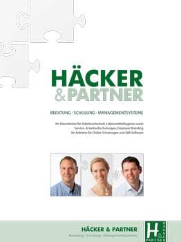 Die Unternehmensbroschüre von Häcker & Partner